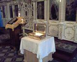 В Свято-вознесенском храме п.Пашковский освящен мощевик с частицами мощей св.угодников Божиих