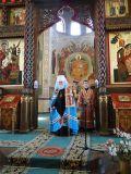 Митрополит Исидор посетил храм Рождества Христова где возглавил Божественную Литургию