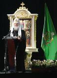 Выступление Предстоятеля Русской Церкви на встрече с молодежью в Ледовом дворце в Санкт-Петербурге