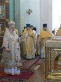 В храме Рождества Христова прошло Архиерейское богослужение