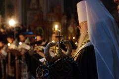 Митрополит Исидор возглавил чтение Великого Канона св. Андрея Критского. Фоторепортаж