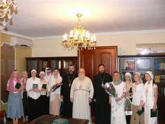 Состоялся пятый выпуск на епархиальных курсах псаломщиков