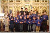 Встреча Вифлеемского огня в Успенском соборе г.Новороссийска