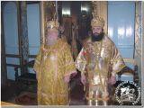 Митрополит Исидор совершил Божественную литургию в Свято-Георгиевском храме