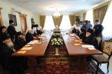 В Киево-Печерской лавре состоялось заседание Священного Синода РПЦ в котором принимает участие митрополит Исидор