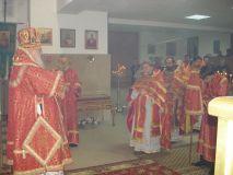 В день святой великомученицы Варвары митрополит Исидор посетил свято-Вознесенский приход пос.Пашковский