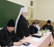 Состоялось заседание Ученого совета Екатеринодарской духовной семинарии