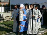 """Митрополит Исидор посетил монастырь в честь иконы Божией Матери """"Нерушимая Стена"""""""